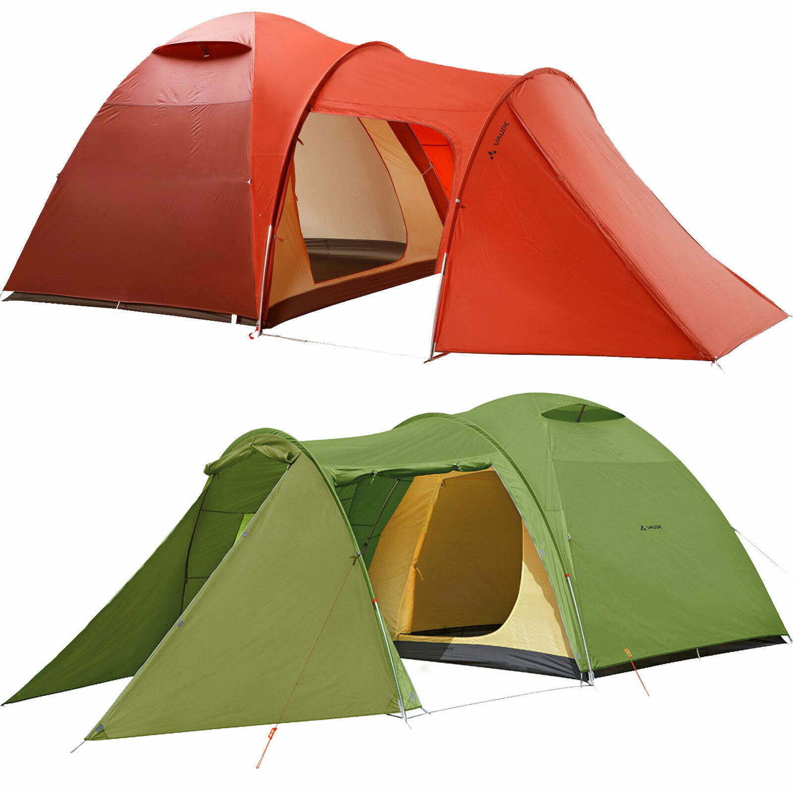 Vaude Campo Casa XT 5 Person Tent Family Tent Large Tent Group Tent Dome Tent