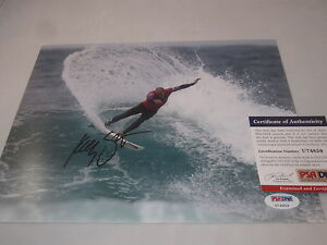 KELLY-SLATER-SIGNED-8X10-PHOTO-PSA-DNA-SURFING-LEGEND-RARE-WOW-U74859