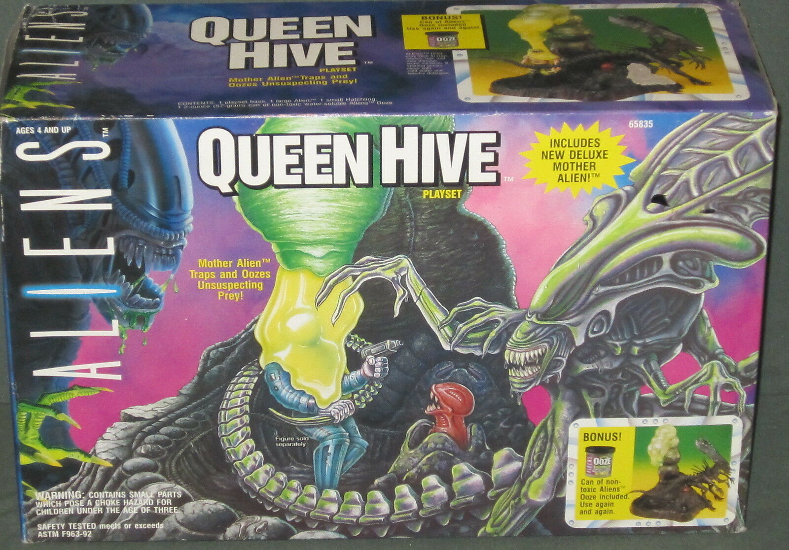 Aliens Queens Hive Playset by Kenner Nuovo SEALED