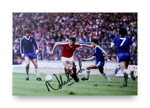 Norman-Whiteside-Signed-6x4-Photo-Manchester-United-Autograph-Memorabilia-COA