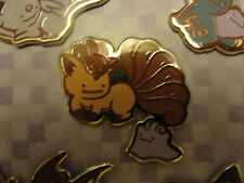 NEW Pokemon Center DITTO Pin Charm -- Ditto as Vulpix