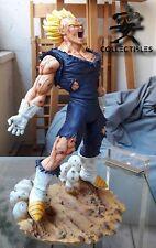 "Dragonball 12"" Vegeta Final Sacrifice Resin Diorama Statue New"