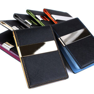 Colourful-Mens-Women-Ultra-Slim-Money-Clip-Wallet-Credit-Card-Holder-Purse-Pouch