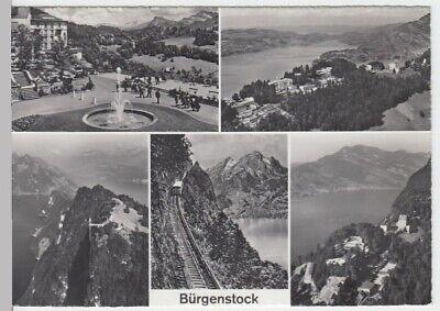 (14615) Foto Ak Bürgenstock, Mehrbildkarte, Nach 1945 Jade Weiß