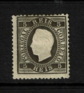 Portugal-SC-34-Mint-Hinged-Hinge-Pg-Rems-some-gum-toning-perf-12-5-S7762