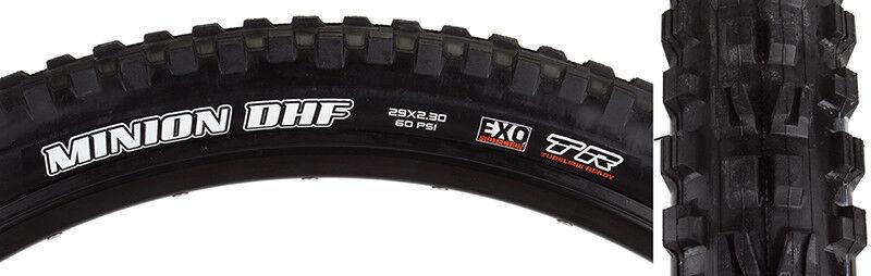 Maxxis Minion Dhf DC exo tr Tire Max minion Dhf 29x2.3 Bk Fold 60 DC exo tr