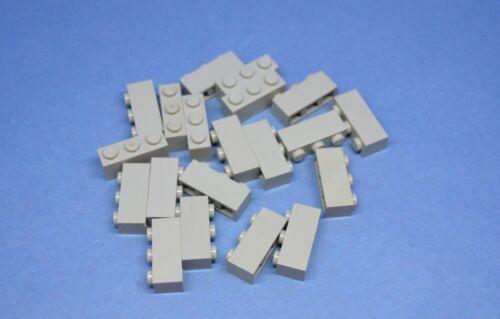 LEGO 20 X PIETRA base 1x3 GRIGIO althell oldgrey Basic Brick 3622