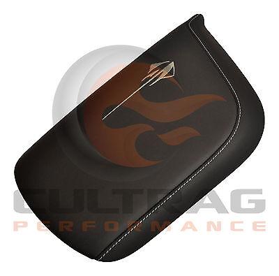 2014-2017 C7 Corvette Genuine GM Kalahari Napa Leather Console Lid Stingray Logo