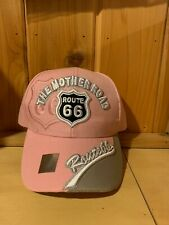 NEW US ROUTE 66 THE MOTHER ROAD METAL ROUTE 66 BALL CAP HAT CAMO