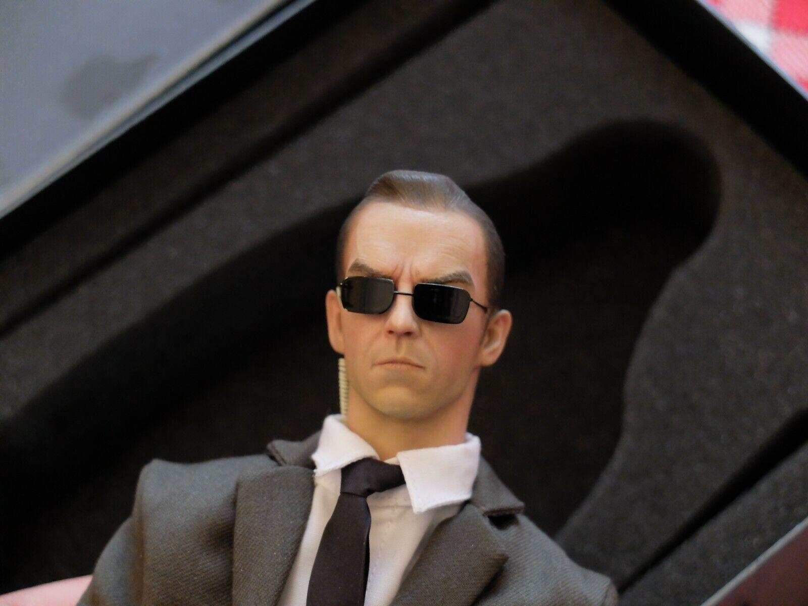 Agent Smith 1 6 scale Matrix Iminime   MasterWorks Figura