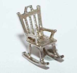 Rocking-Chair-Sterling-Silver-Vintage-Bracelet-Charm-With-Gift-Box-2-4g