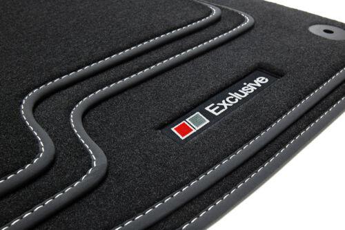 Exclusive Line Fußmatten für Audi A3 8P 8PA Sportback Limo S-Line Bj.2003-2012