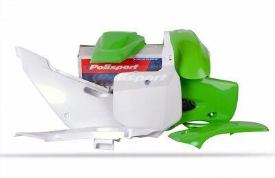 Polisport Complete Replica Plastic Kit 2005 Green for Kawasaki KLX110 2002-2009