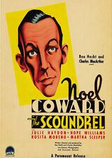 The Scoundrel - 1935 - Noel Coward Julie Haydon - Vintage b/w Drama Film DVD