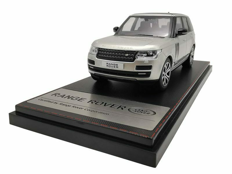 Range Rover Sv Carbiography Dynamic 2017 Champagne 1 43 Model LCD MODELS