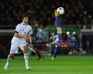 Lionel messi la liga club fc barcelona bicycle kick 8x10 11x14 16x20 photo 3045 ebay - Messi bicycle kick assist ...