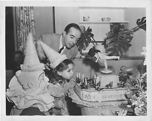 Young LIZA MINNELLI and Father original MGM b/w publicity