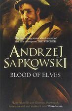 Blood of Elves by Andrzej Sapkowski (Witcher 1) New Paperback Book 9780575084841