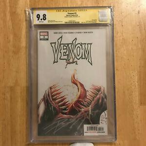 Venom-3-1st-Print-CGC-9-8-NM-MT-SS-Donny-Cates-1st-appearance-Knull-Marvel-2017
