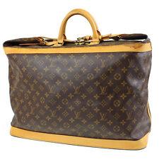 Louis Vuitton Cruiser 50 Travel Hand Bag Monogram M41137 Vintage Auth #9990 I