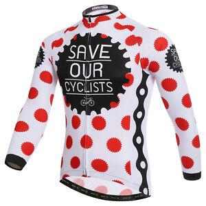 Fashion Men/women Cycling Jersey Bike Cyclists Clothing Long Sleeve Breathable