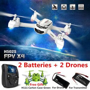 Hubsan H502S X4 Drone 5.8G FPV RC Quadcopter W/ 720P...