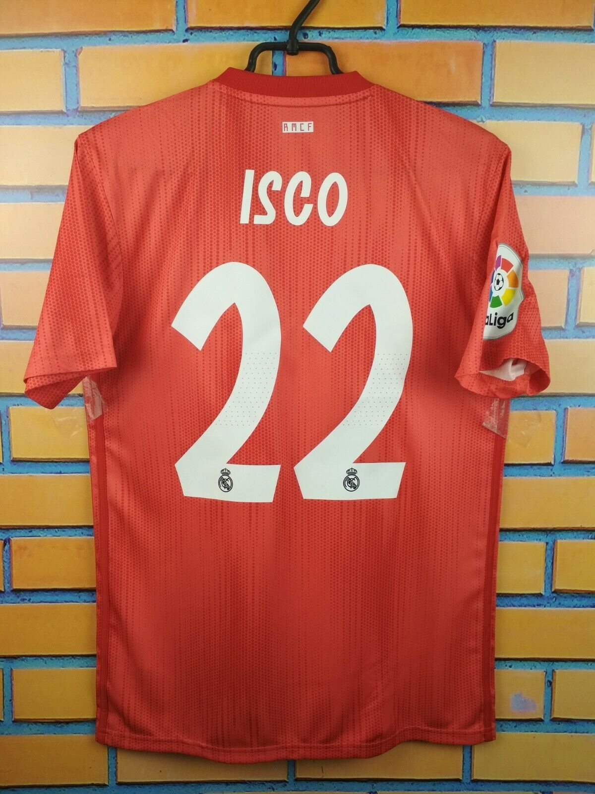 Isco Real Madrid parley jersey smtutti 2018 2019 away shirt DP5445 soccer Adidas