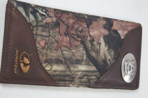 ZEP-PRO Auburn Tigers Roper Leather /& Nylon MOSSY OAK Camo Wallet NO BOX