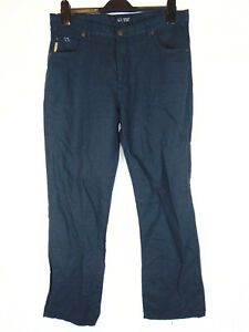 AJ-Armani-Mens-Navy-Blue-Chinos-Casual-Trousers-Lightweight-Comfort-Fit-34W-31L