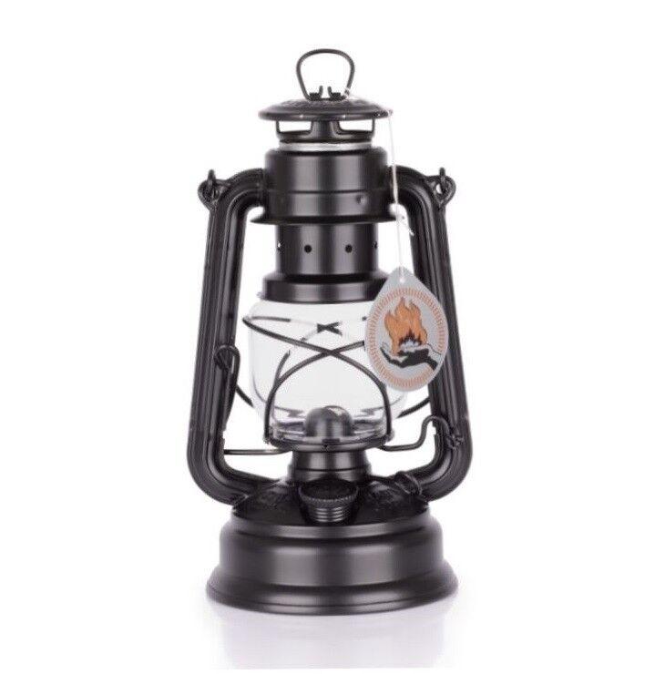 Sturmlaterne Sturmlaterne Sturmlaterne Feuerhand 276 mattschwarz  Petroleumlaterne Lampe Baby Petromax d63fc1