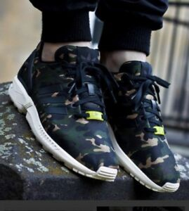 differently 27211 b76c4 Details about Adidas ZX Flux Camo Size 7