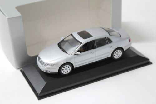 1:43 Minichamps VW Phaeton Limousine silver DEALER NEW bei PREMIUM-MODELCARS