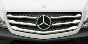 2013-2017 Mercedes SPRINTER W906 Chrome Front Grill Covers 5pcs S.STEEL