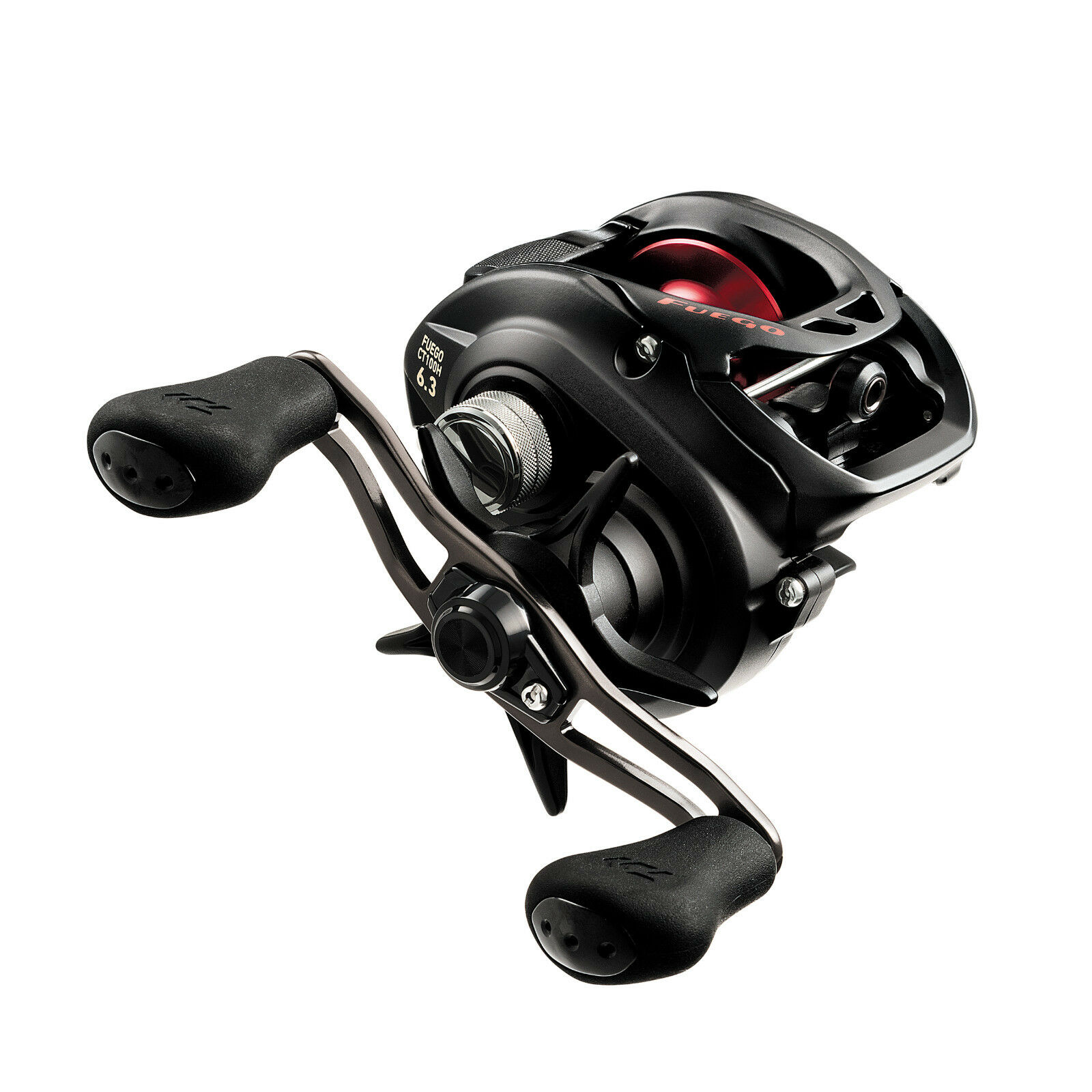 Daiwa Fuego CT 100 Right Hand Baitcast Casting Fishing Reel 8.1 1   FGCT100XS