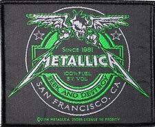 Metallica - Beer Label Patch 8cm x 10cm