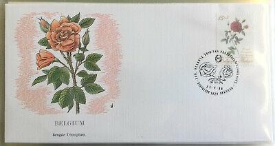 Motive Briefmarken Ersttagsbrief Fdc Belgien Belgium Rose Bengale Triomphant 1988 Top