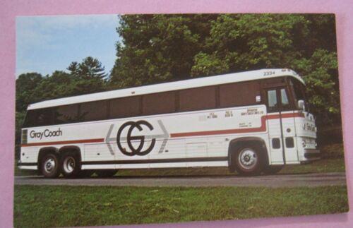 Gray Coach MC-9 Crusader II No 2334 in Ontario Bus Postcard