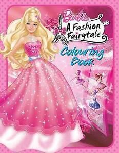 Barbie Fashion Fairytale Colouring Book By Bonnier Publishing