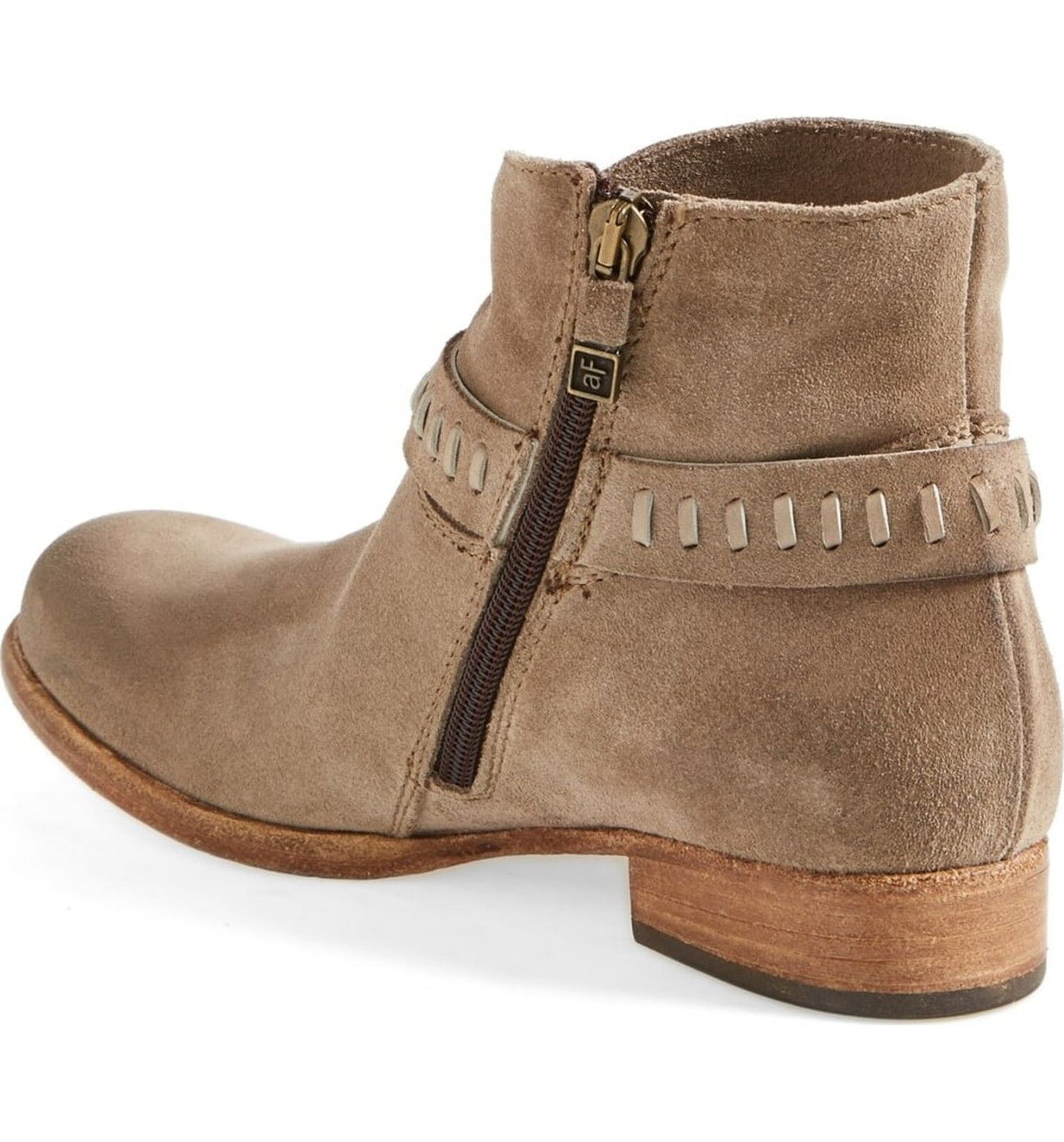 NEW Alberto Fermani 'Sofia' Suede Suede Suede Harness Boot, Women Size 35.5 (5.5 US),  575 77ef54