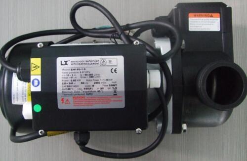 Baignoire pompe avec 1500 W élément chauffant EH100 EH150 Spa chauffage pompe 1HP 1.5HP