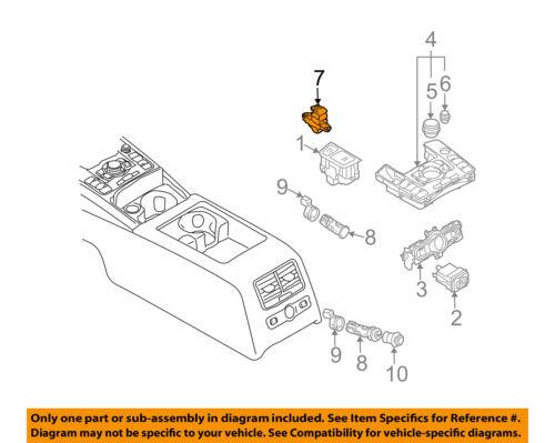 AUDI OEM 05-10 A6 Quattro Parking Brake-Switch 4F1927225B