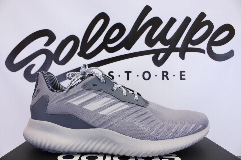 Adidas alphabounce schwarz rc heather grau - schwarz alphabounce - weiße schuhe bw0693 sz 12 2cd70c