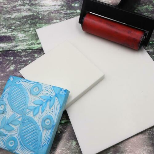 Renoir Lino Carving Block Ezy Carve Printmaking Printing 1x Block A4 21x29cm