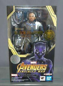 King of Wakanad Action Figure Bandai S.H.Figuarts Black Panther Avengers 3