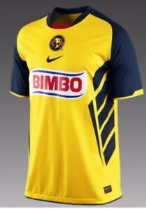 buy popular e84de 1559f Details about NIKE CLUB AMERICA HOME JERSEY 2010/11.