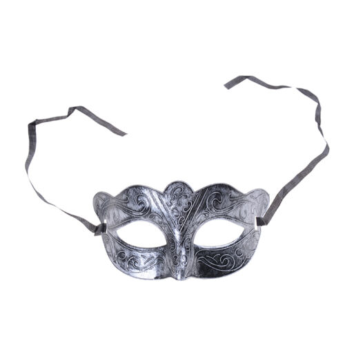 Men Halloween Silver Gold Venetian Mardi Gras Masquerade Party Ball Mask LE