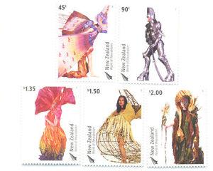 New Zealand Costumes-art Set Neuf Sans Charnière (2701-5)-afficher Le Titre D'origine