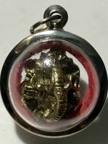 PHRA PHIKANET//PHIKANESUAN LP RARE OLD THAI BUDDHA AMULET PENDANT MAGIC ANCIENT37