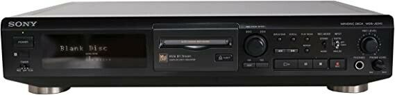 Minidisc afspiller, Sony, MDS-JE 510