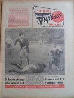 FUWO 10-6.3. 1962 Aktivist Brieske Erfurt-Rostock 2:1 Jena-Magdeburg 5:0 Seifert